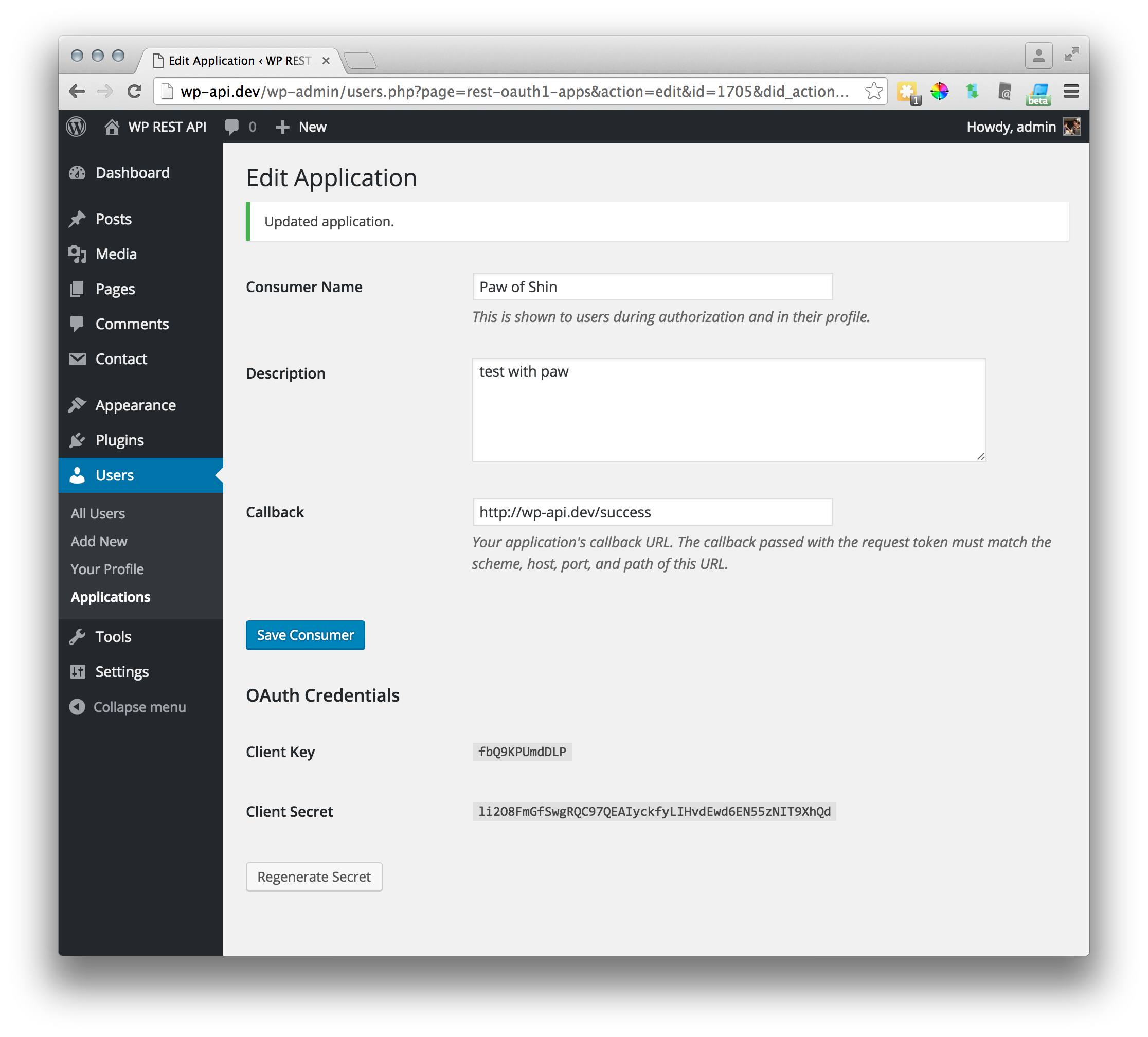 OAuth in WP REST API  How and why  – Nobil Co , Ltd